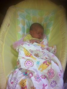 sweet dreams, three weeks old